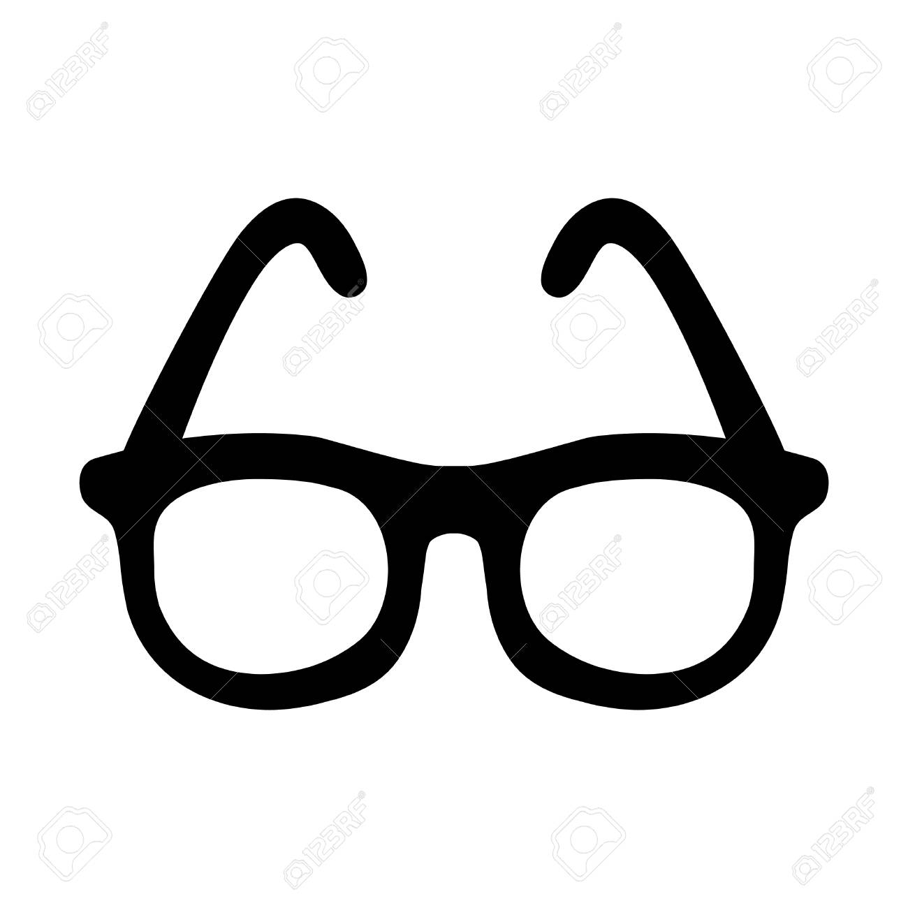 glasses vector icon royalty free cliparts vectors and stock rh 123rf com glass victorian greenhouses glass victorian roof