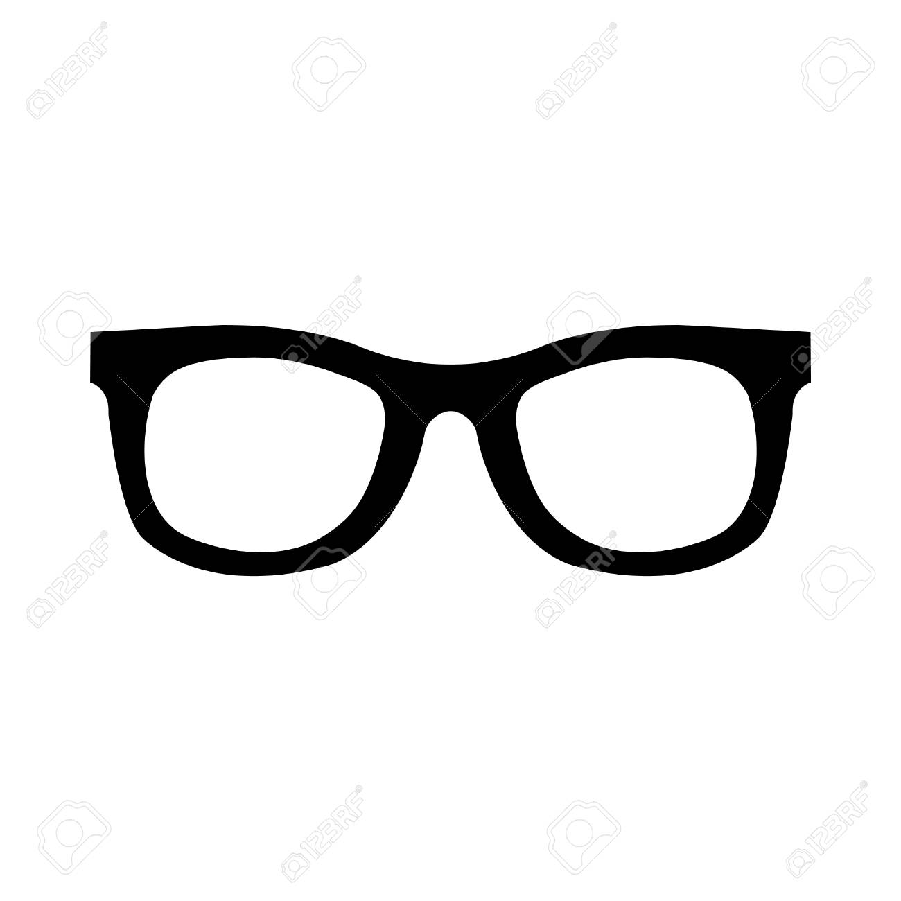 glasses vector icon royalty free cliparts vectors and stock rh 123rf com glasses vector free download glasses vector image