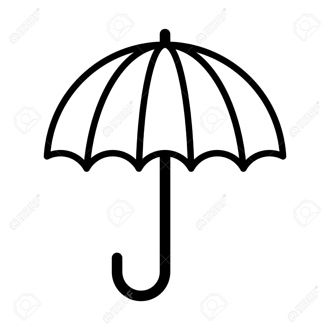 umbrella vector icon royalty free cliparts vectors and stock rh 123rf com umbrella vector png umbrella vector png