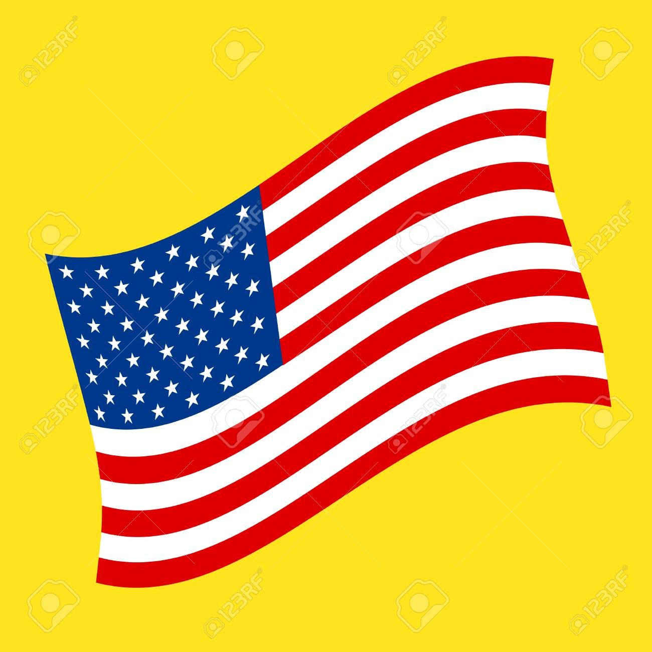 american flag vector icon royalty free cliparts vectors and stock rh 123rf com american flag vector artwork american flag vector art for photoshop