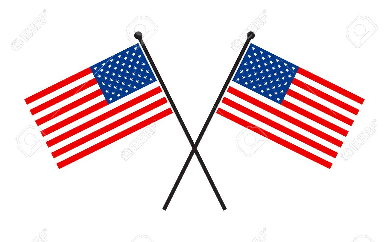 american flag vector icon royalty free cliparts vectors and stock rh 123rf com american flag vector format american flag vector logo