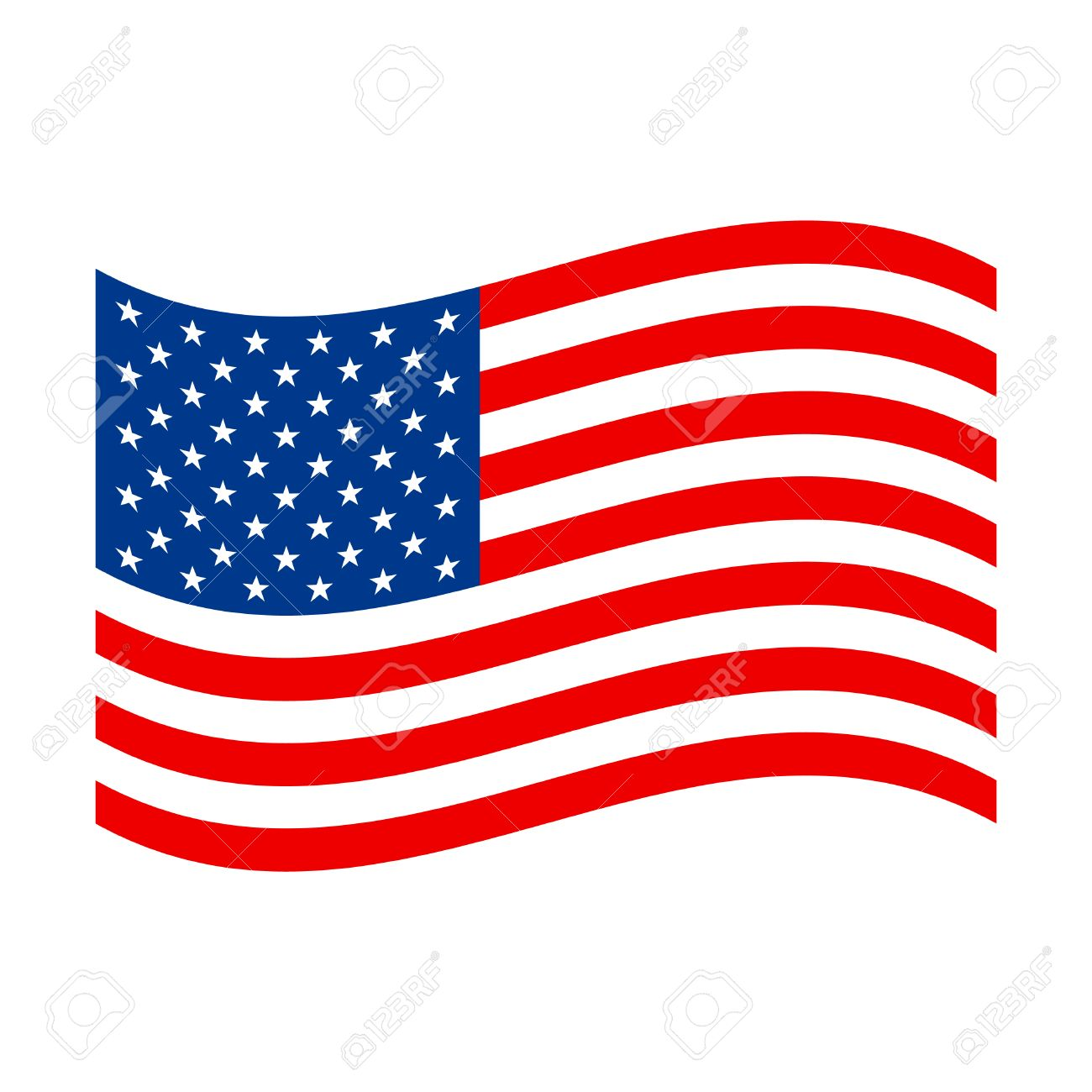 american flag vector icon royalty free cliparts vectors and stock rh 123rf com american flag vector graphic american flag vector template