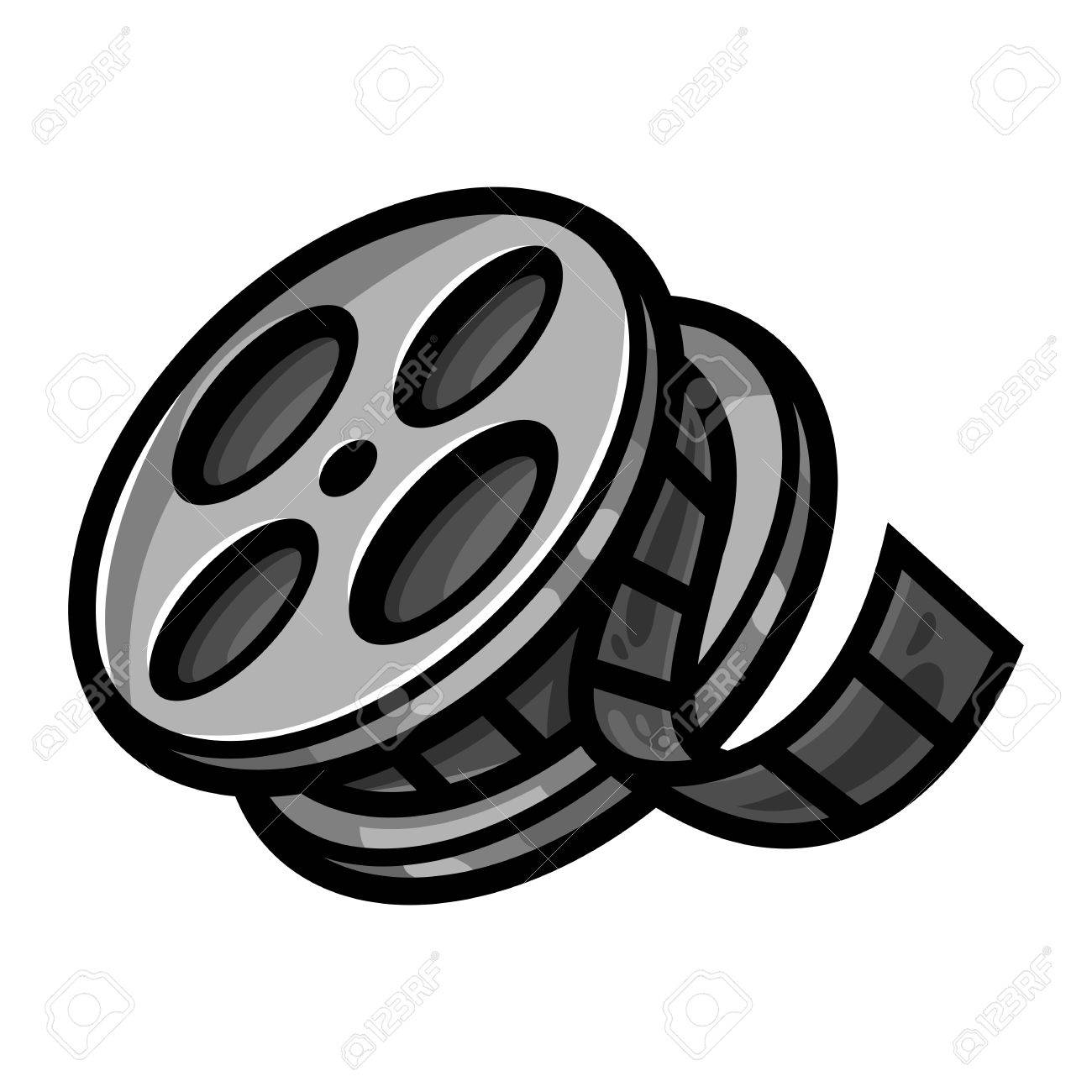 Movie Film Reel Royalty Free Cliparts Vectors And Stock