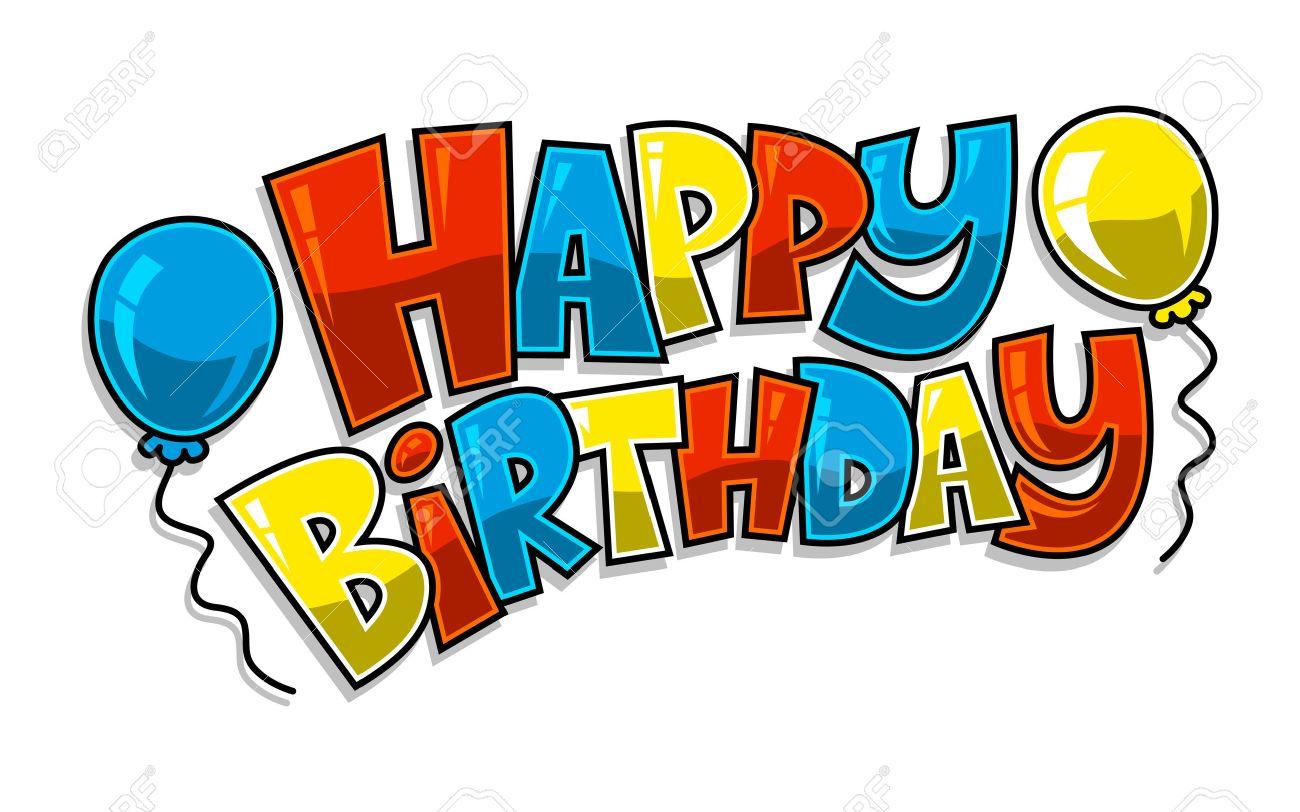 Happy Birthday Balloons Vector - 51929337
