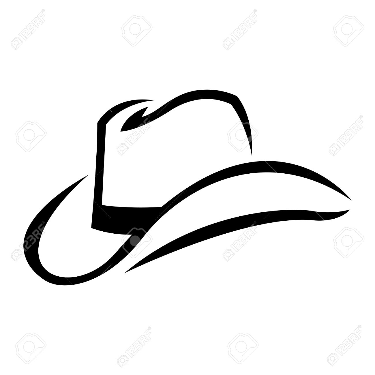 Cowboy Hat Royalty Free Cliparts, Vectors, And Stock Illustration ...