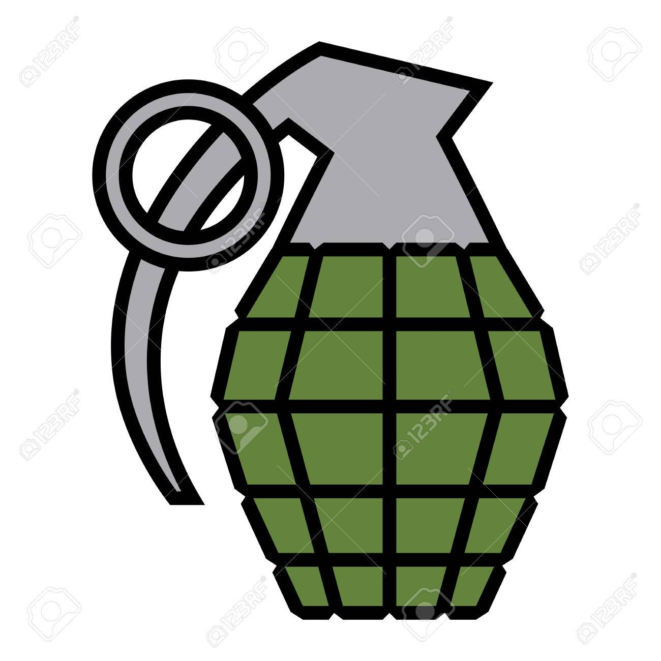 hand grenade vector illustration royalty free cliparts vectors and rh 123rf com