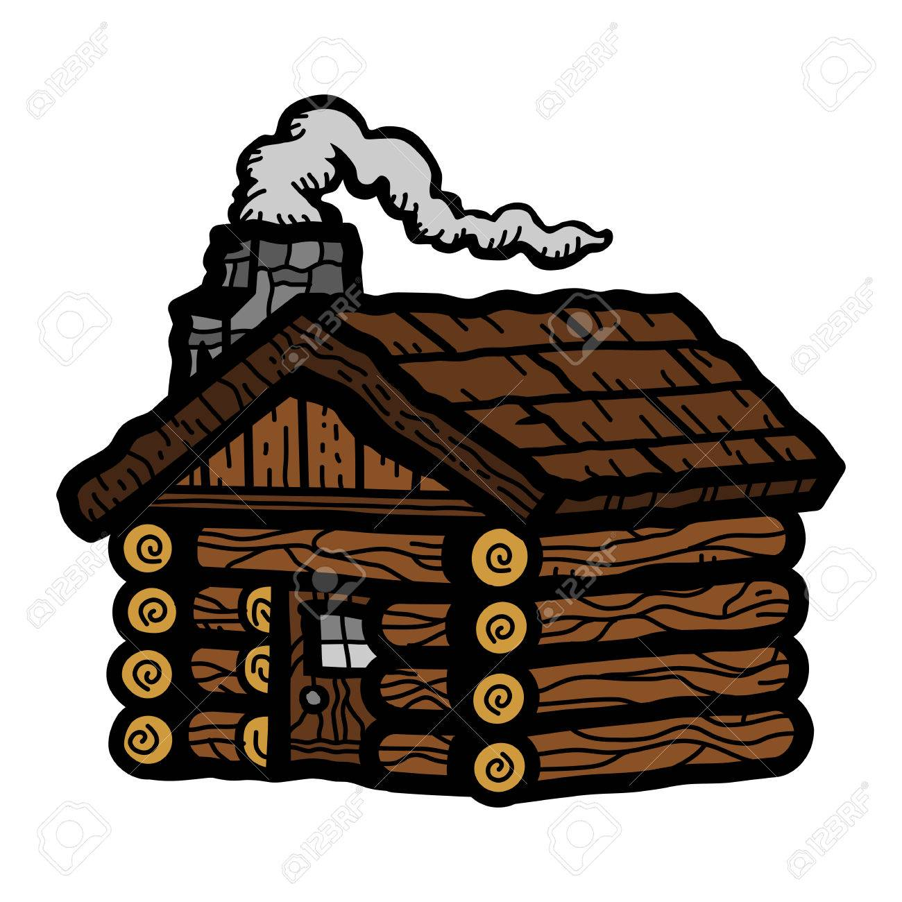 Log Cabin Royalty Free Cliparts Vectors And Stock Illustration