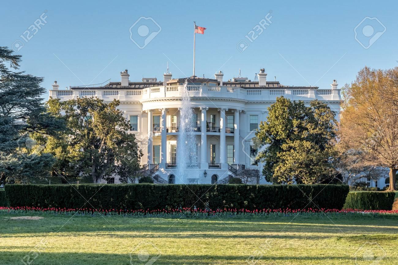 Das Weisse Haus Befindet Sich Auf 1600 Pennsylvania Avenue Nw In Washington Dc Ist Die Offizielle Residenz Und Buro Des Prasidenten Der Vereinigten Staaten Es Wurde Von Der Irischen Geboren Architekt James