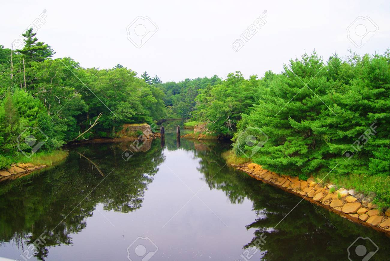 Man Made Canal Stock Photo - 7580091