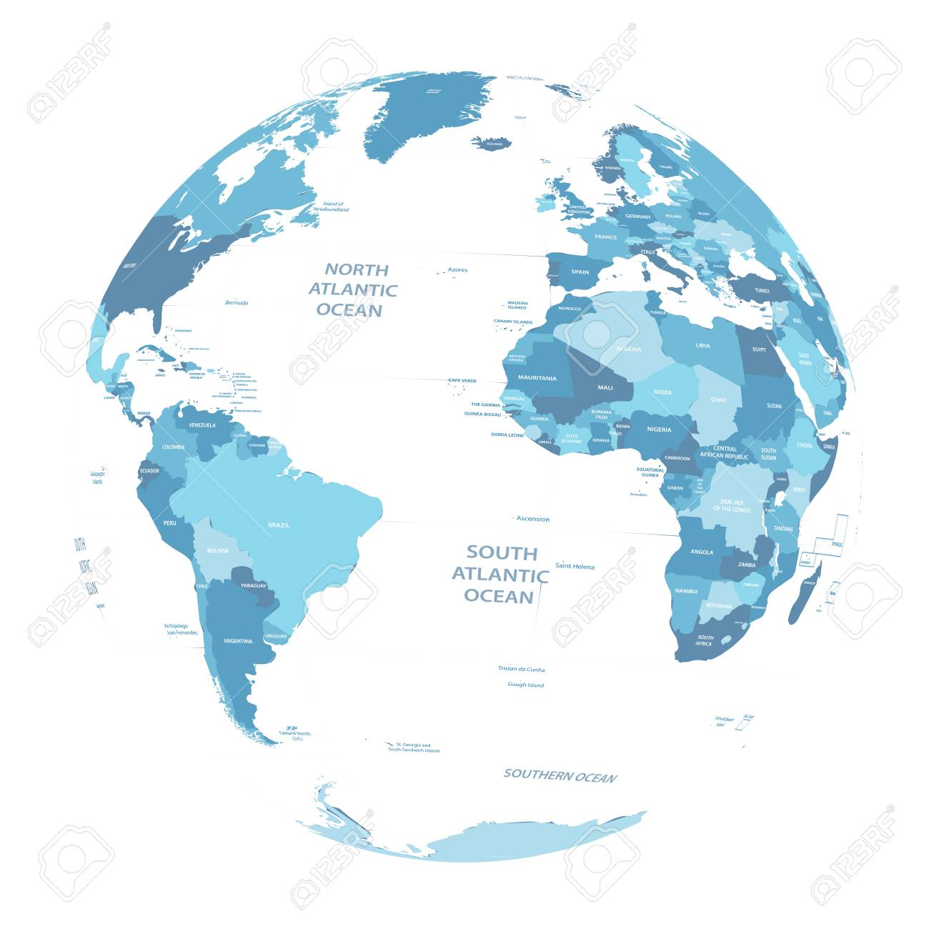 Vector earth globe with political map royalty free cliparts vectors vector vector earth globe with political map gumiabroncs Choice Image