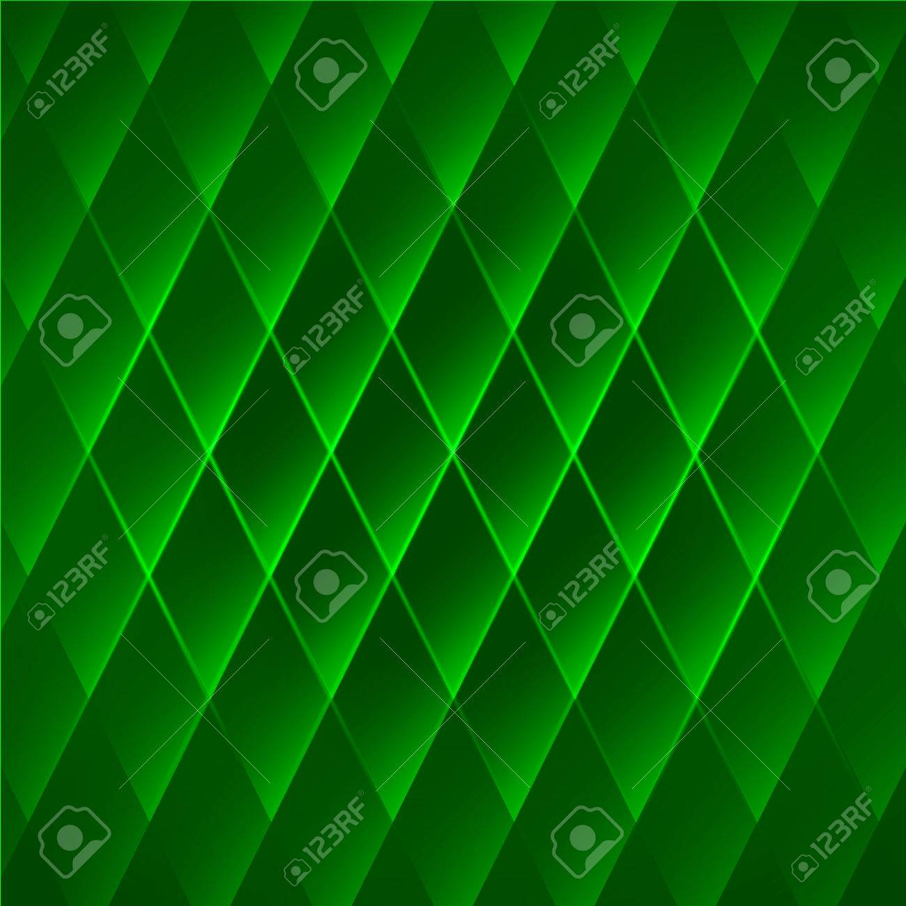 Abstract Green Geometric Background Bright Vector Emerald Wallpaper With Cells Stock