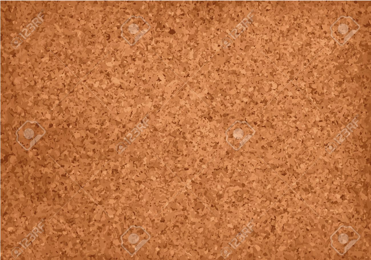 Realistic cork material grunge background. Vector texture imitation. Stock  Vector - 44482144
