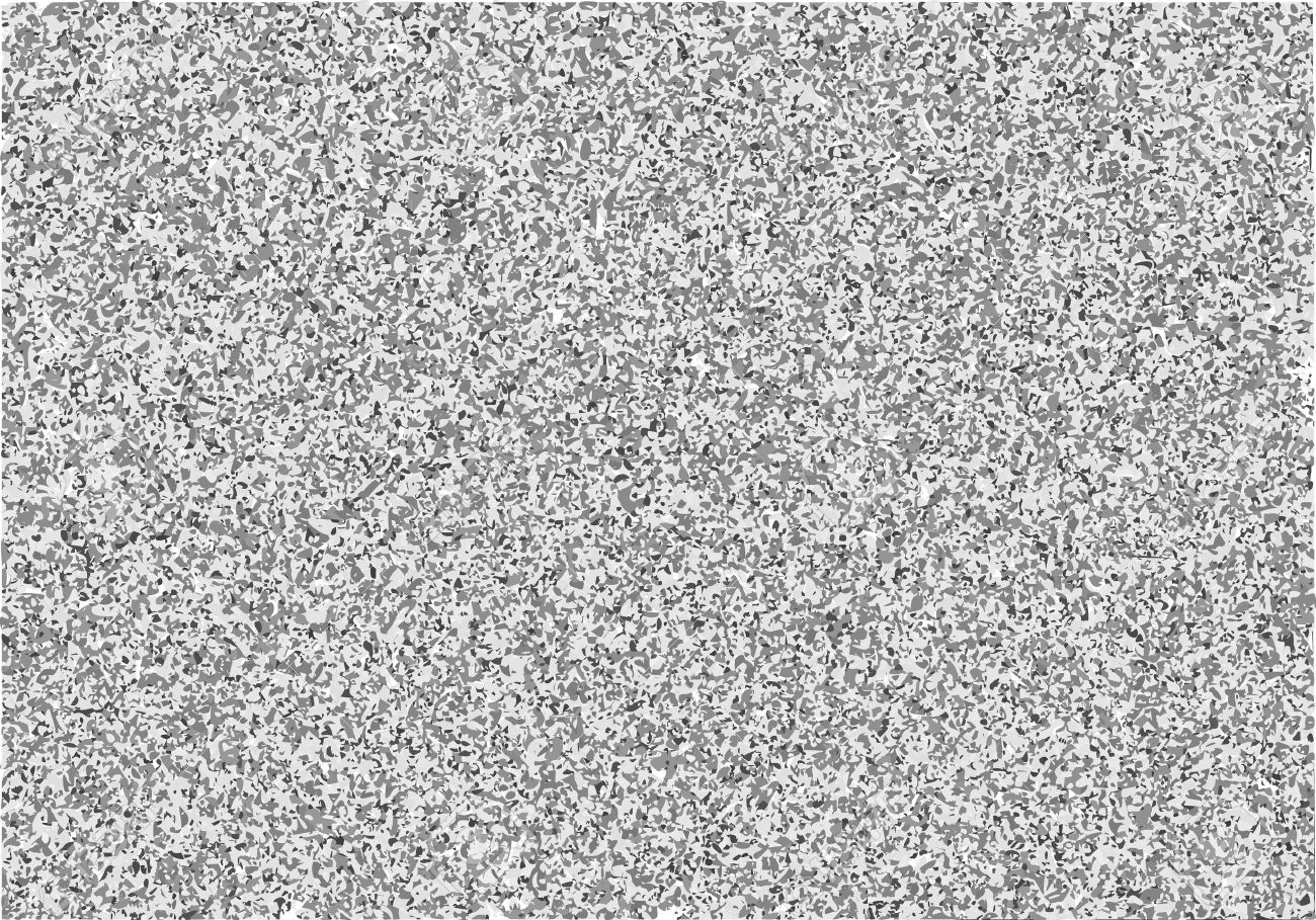 Vector Television Interference Black And White Noise On Tv Screen