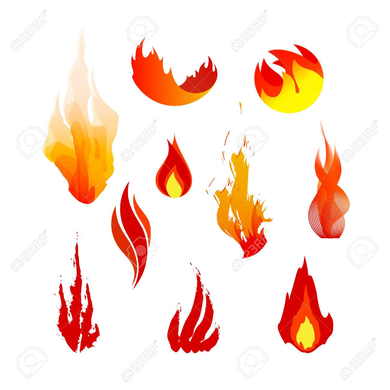 Fire hazard symbol smbolos de map of asia philippines set of red orange and yellow fire symbols vector logo elements 44483242 set of red orange and yellow fire symbols vector logo elements flame icons photo biocorpaavc Gallery