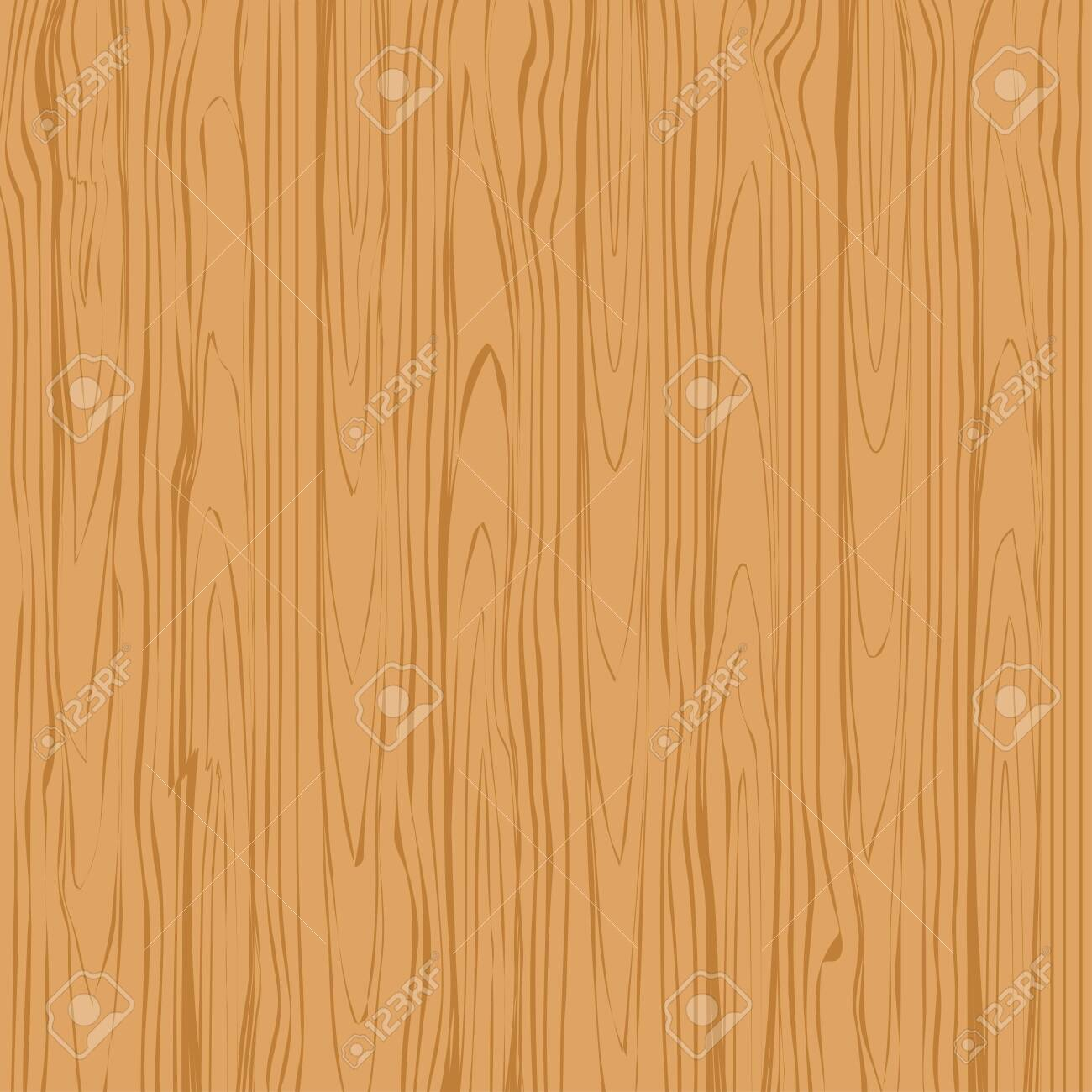 Wood texture background vector. Brown tree surface vector illustration - 138866421