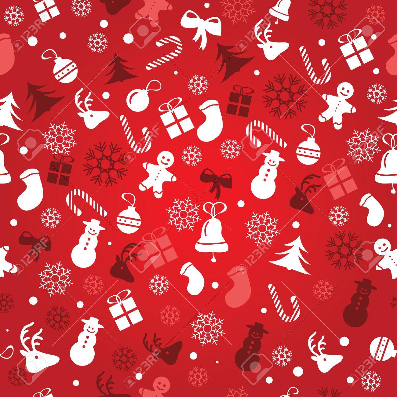 34192907 Weihnachten Hintergrund nahtlose Fliesen gute Wahl f r Geschenkpapier Muster Vektor Lizenzfreie Bilder