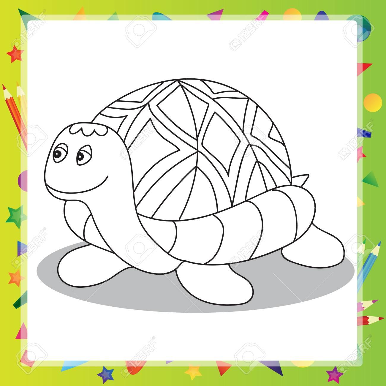Nett Cartoon Schildkröte Malvorlagen Zeitgenössisch - Druckbare ...
