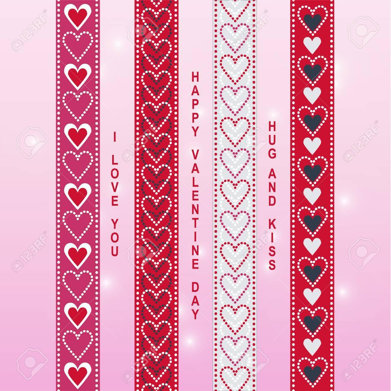 Valentine Band Washi Band Scrapbook Artikel In Rot, Rosa, Weiß Und ...