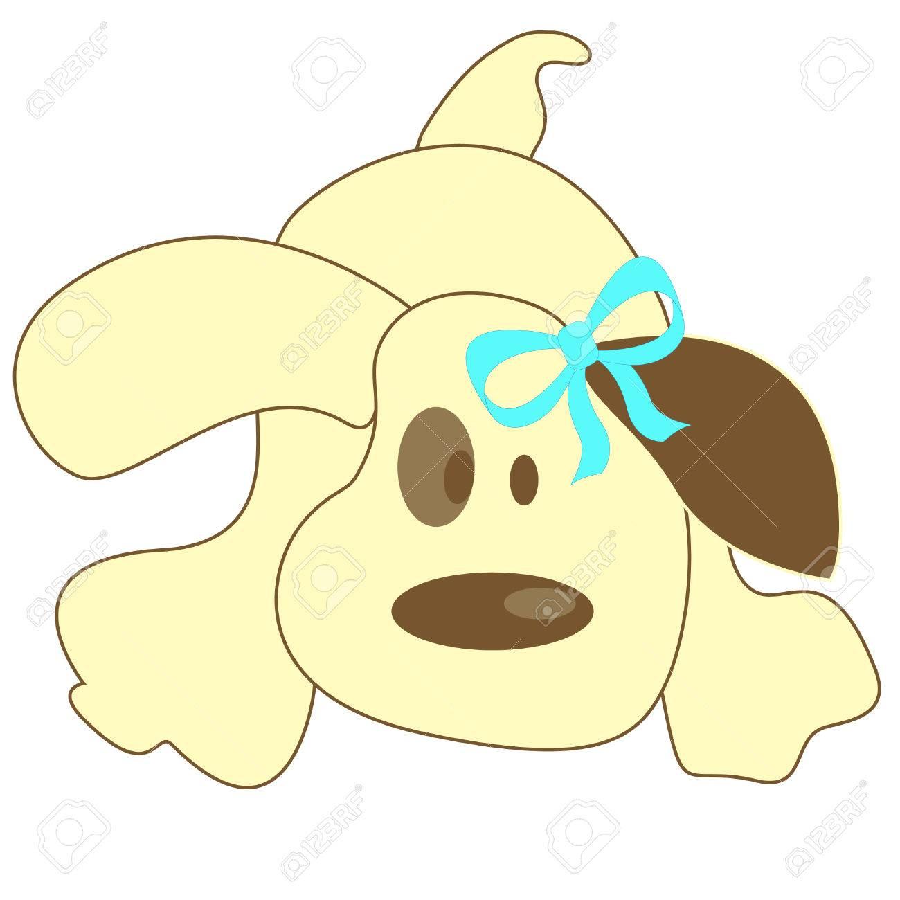 Light cartoon dog Stock Vector - 8142650