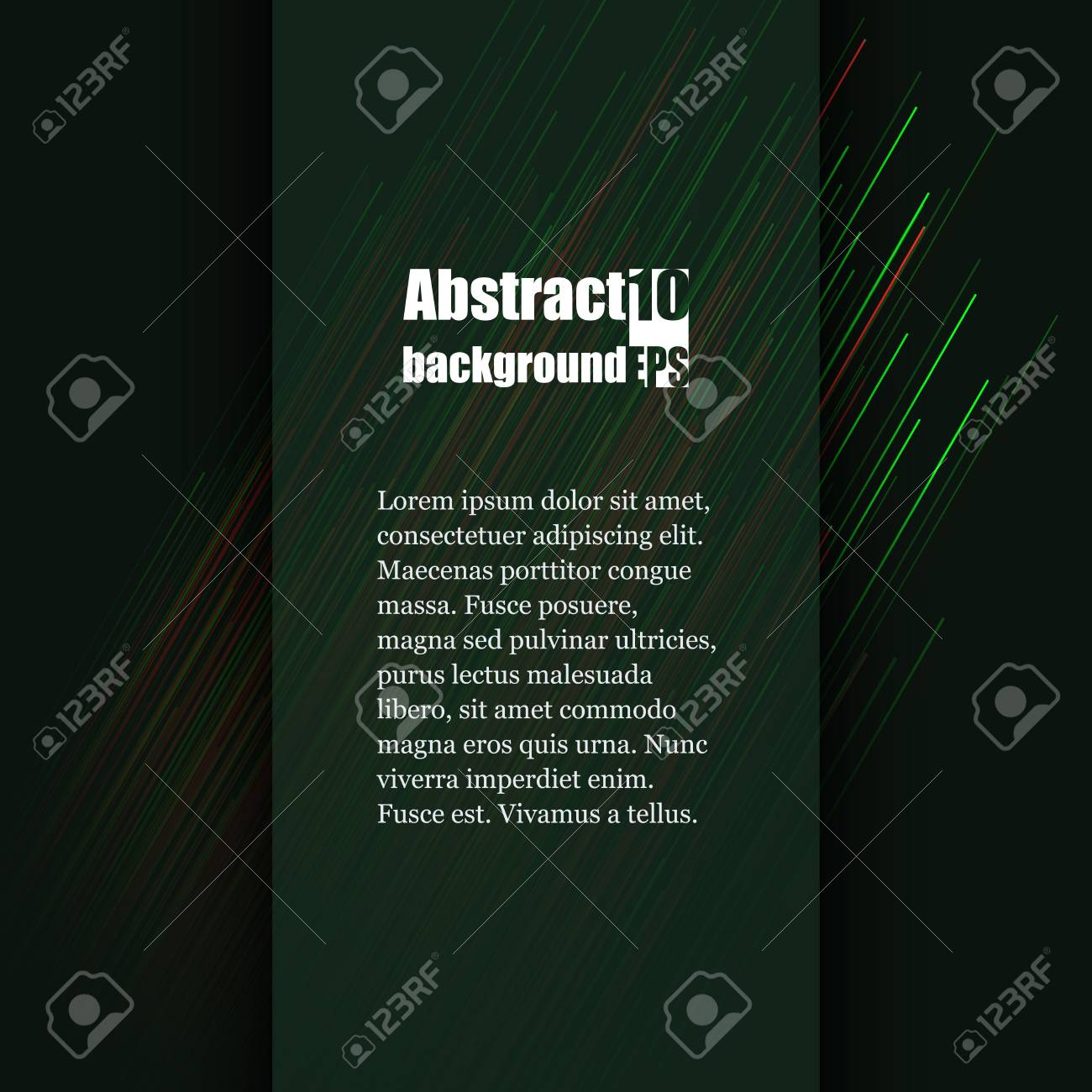brochure template with abstract background eps10 vector