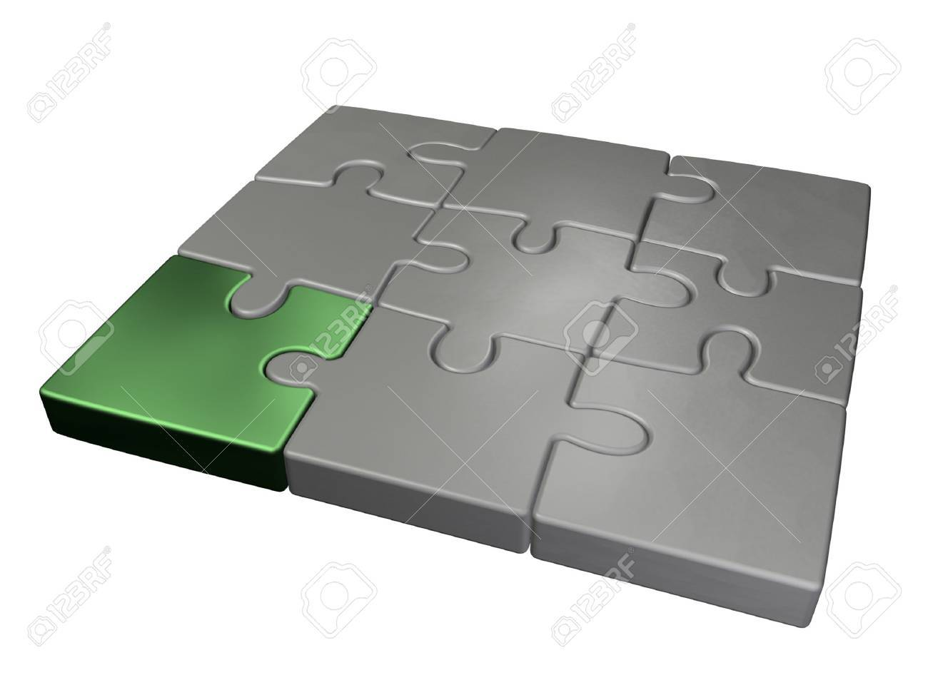 small jigsaw puzzle Stock Photo - 2514073