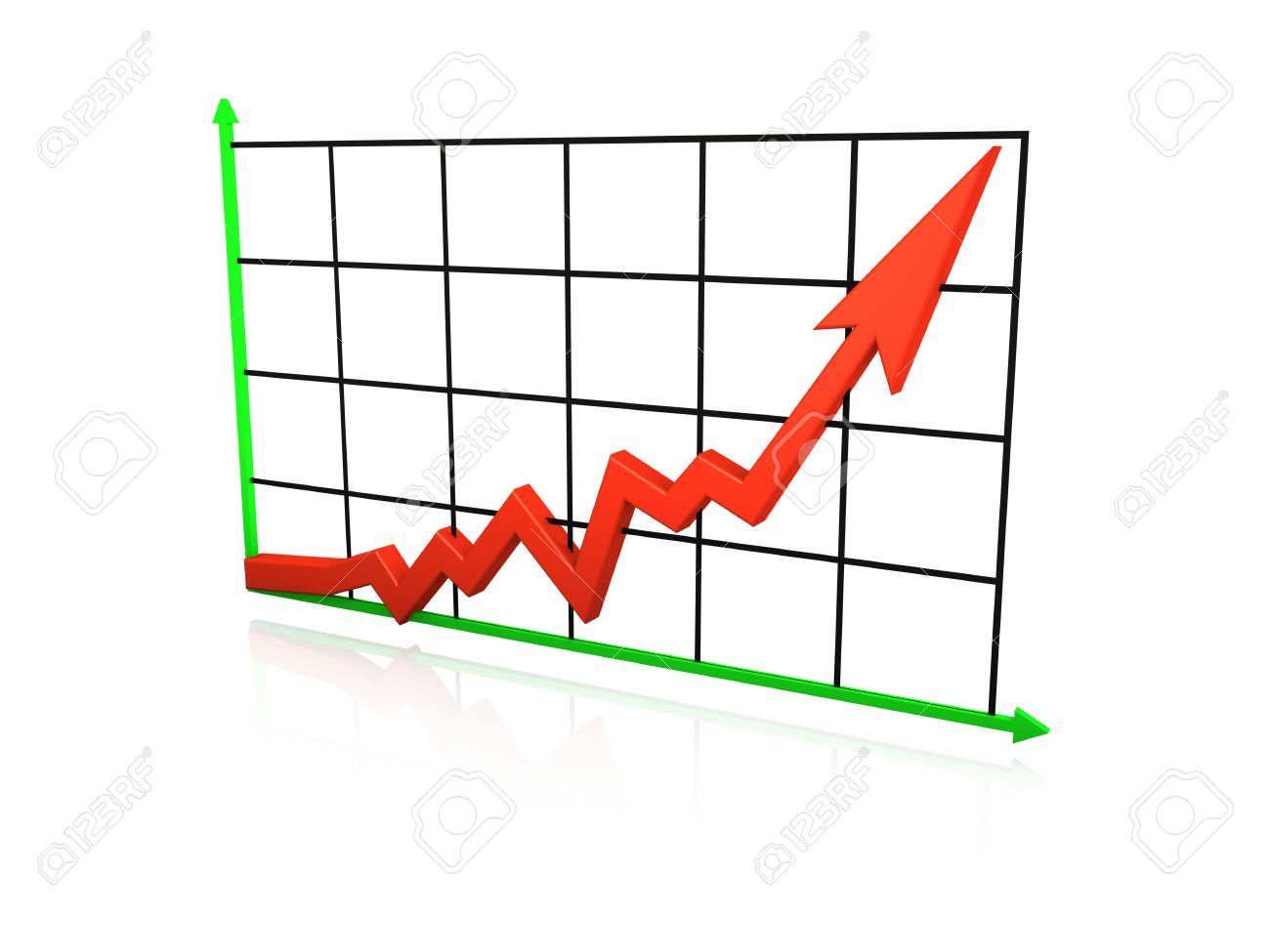 Line Graph Going Up