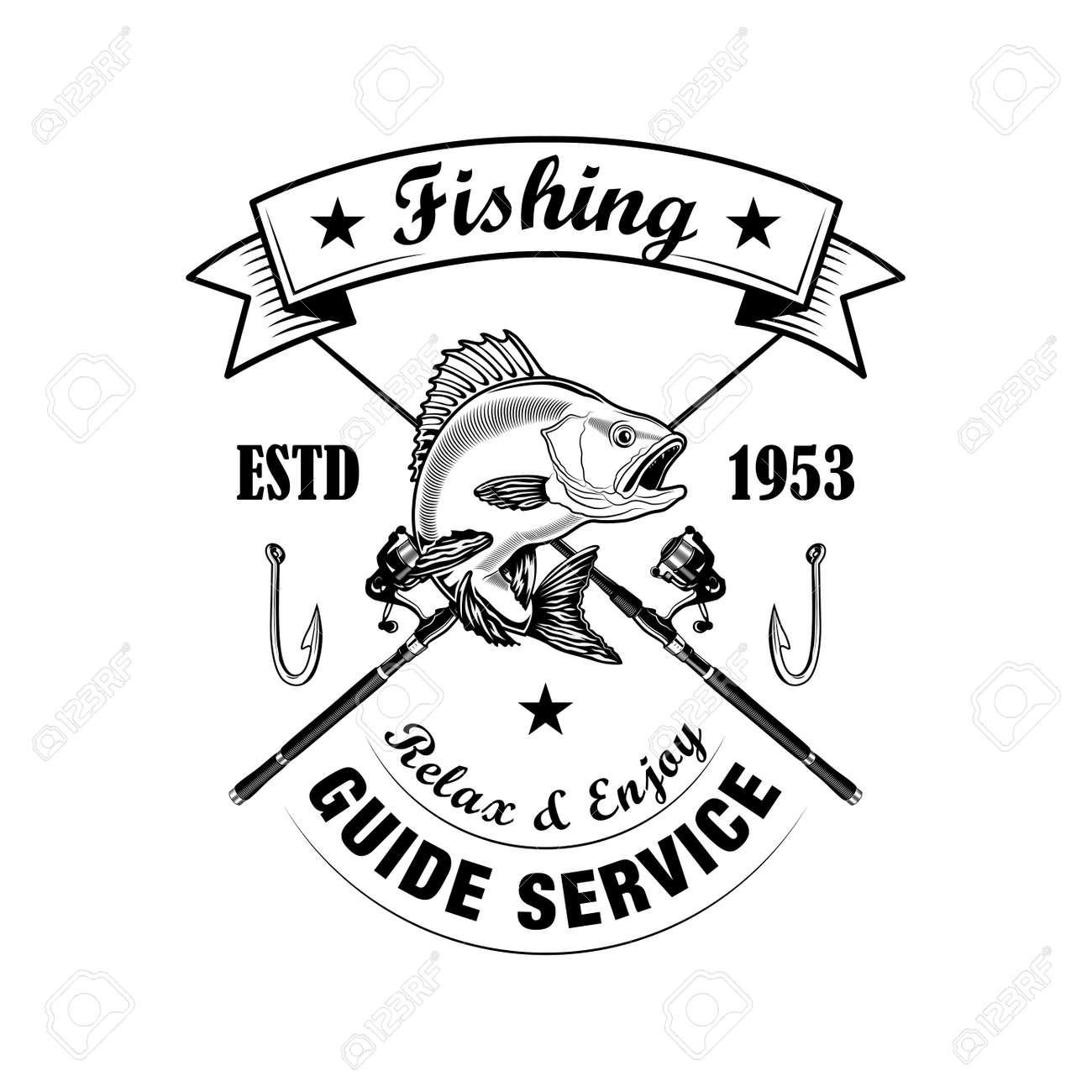 Fishing tools vector illustration - 158919769