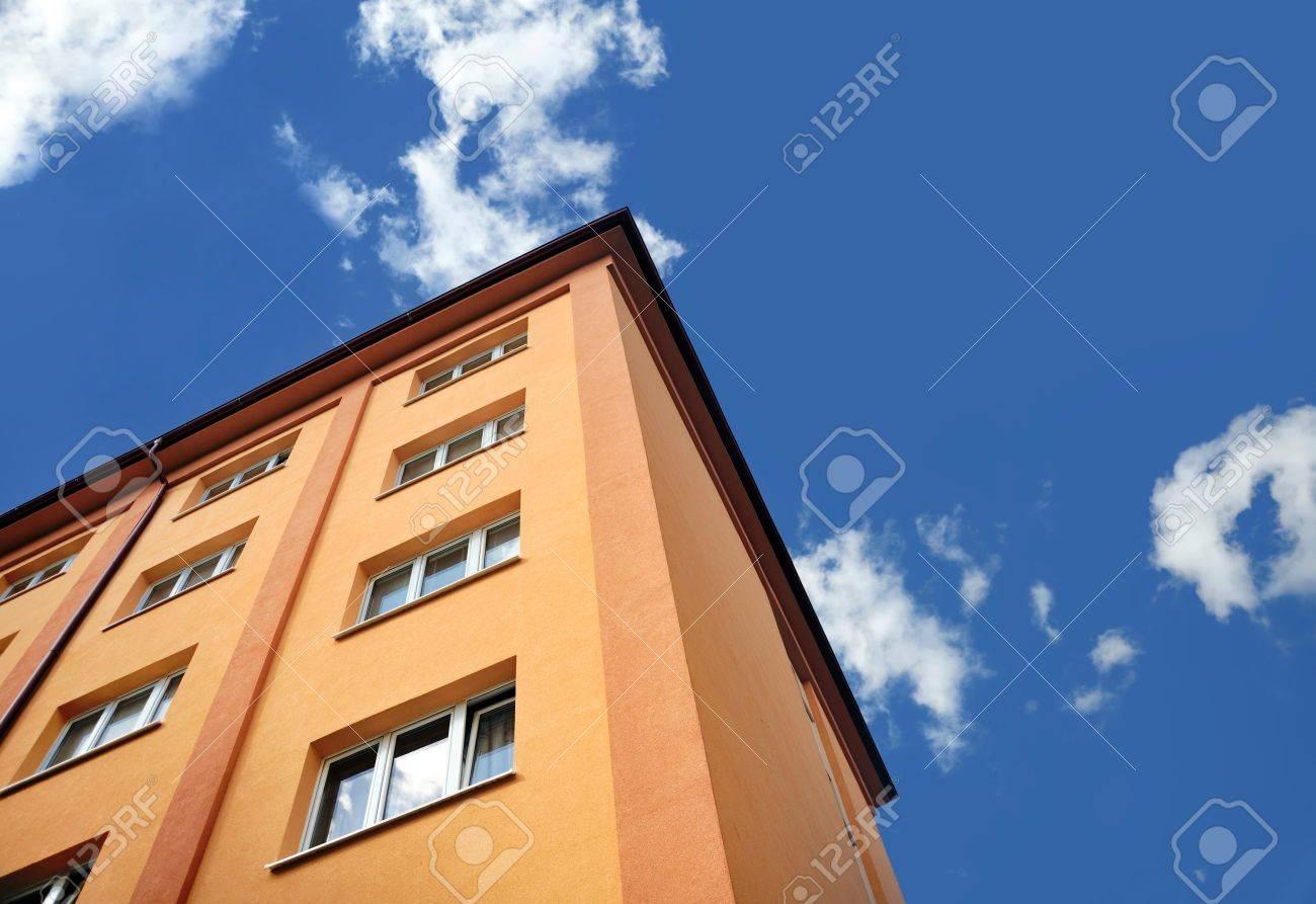 Block of flats - apartment building Stock Photo - 8669559