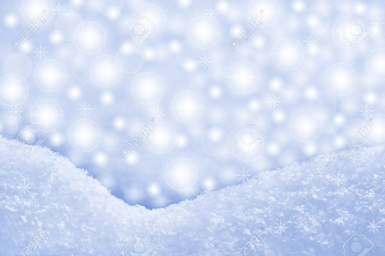 Detail of snowdrift and sparkling background Stock Photo - 15804405
