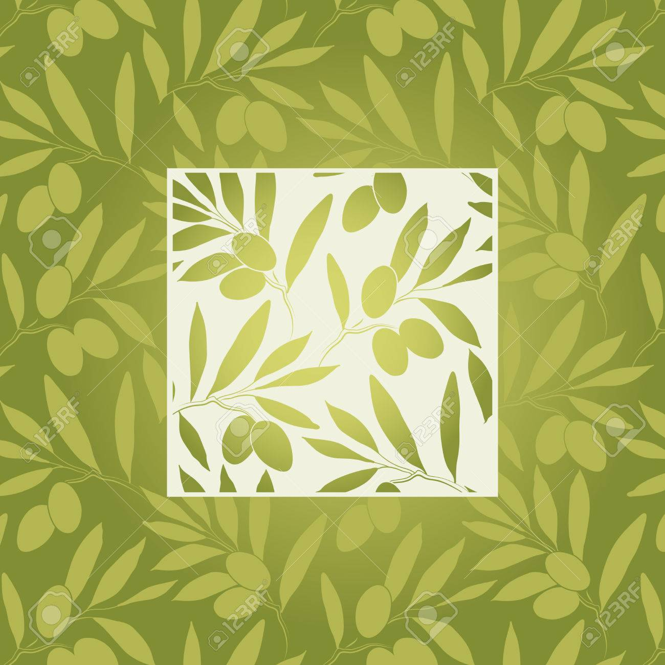 Pattern Olive Branch Royalty Free Cliparts, Vectors, And Stock ...
