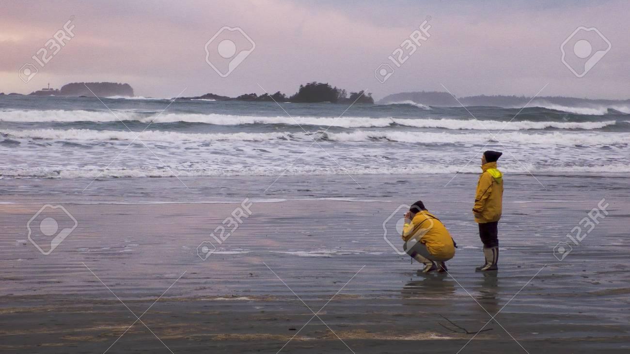 Cox Bay, on the southwest coast of Vancouver Island, British Columbia, Canada Stock Photo - 12931999