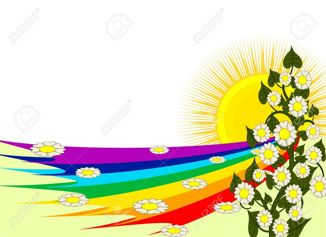Rainbow Frame Royalty Free Cliparts, Vectors, And Stock Illustration ...