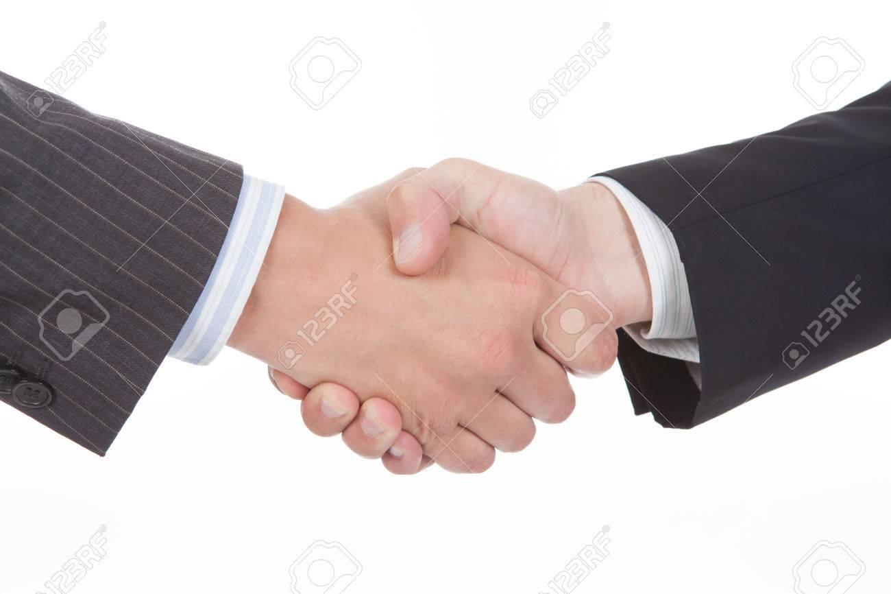 ビジネスの成功の人々 ハンド シェーク商談成立 の写真素材・画像素材 ...
