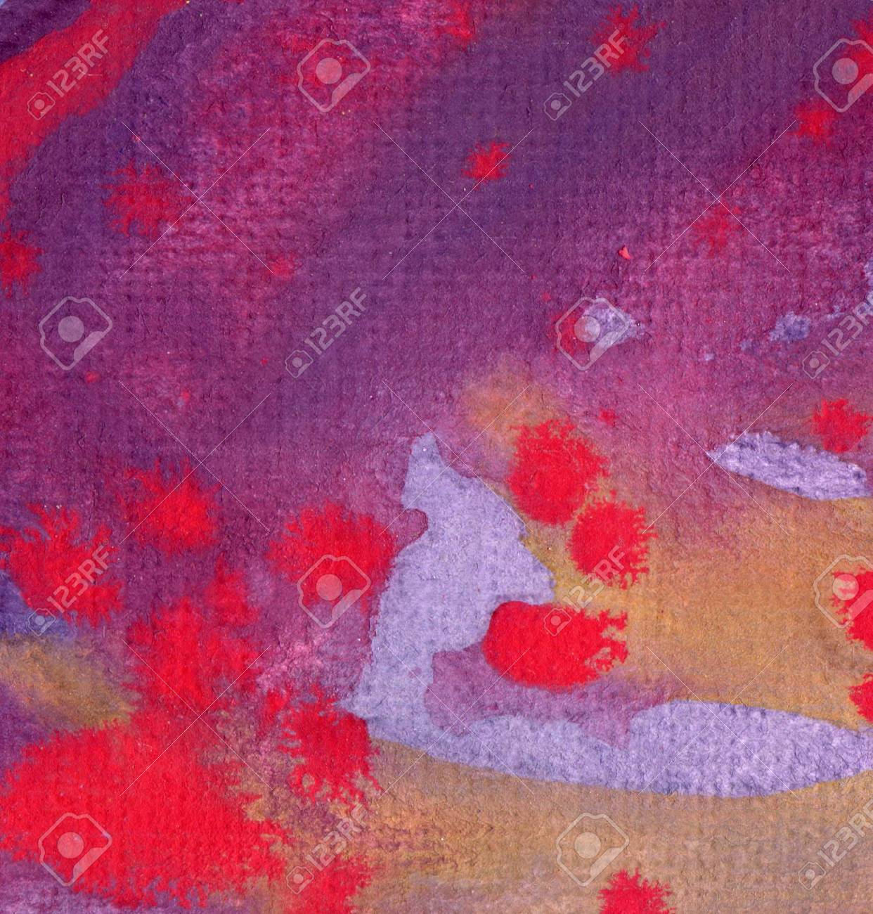 Artistic background watercolor on watercolor paper Stock Photo - 15574772