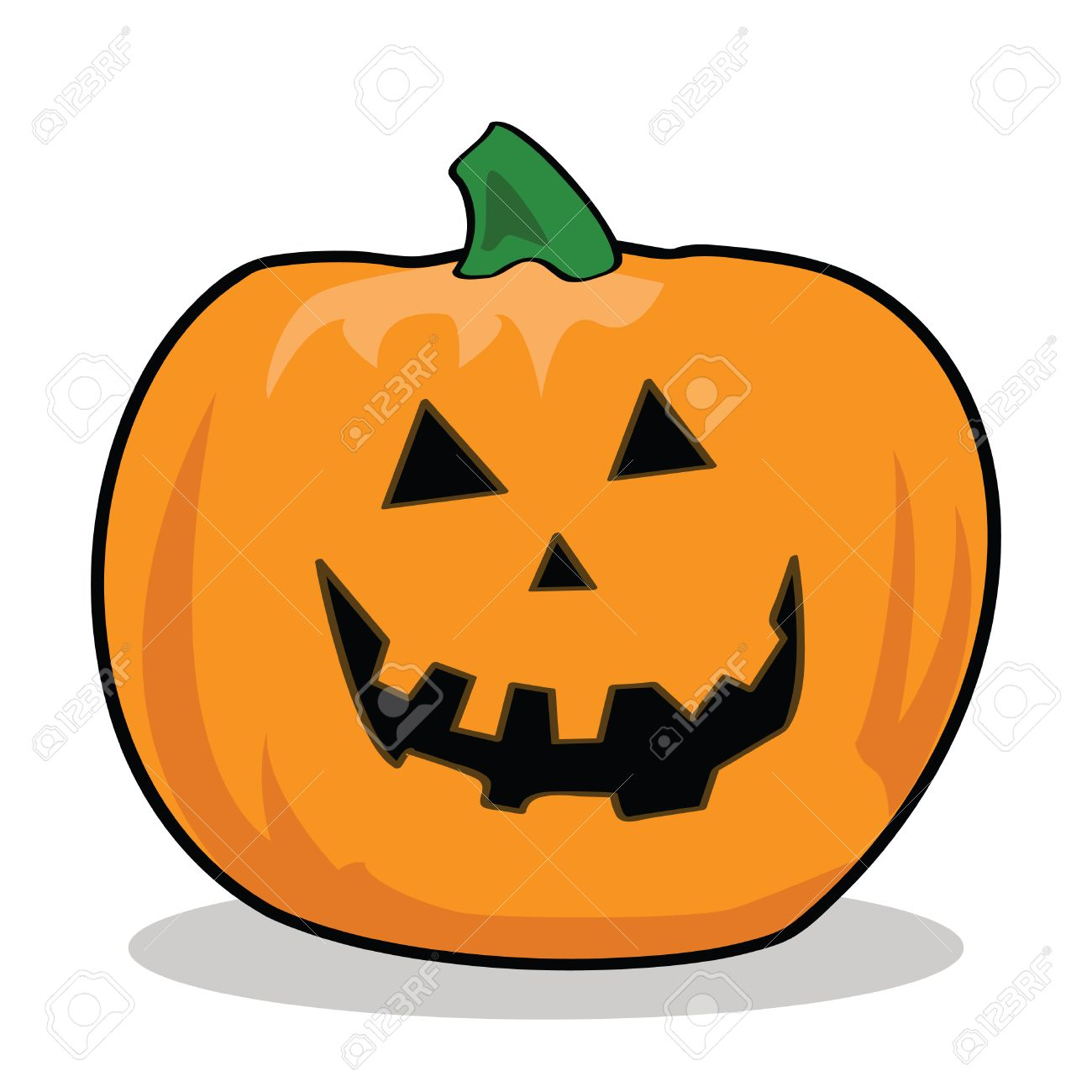 Cartoon illustration of a carved pumpkin for halloween royalty cartoon illustration of a carved pumpkin for halloween stock vector 7530374 thecheapjerseys Choice Image