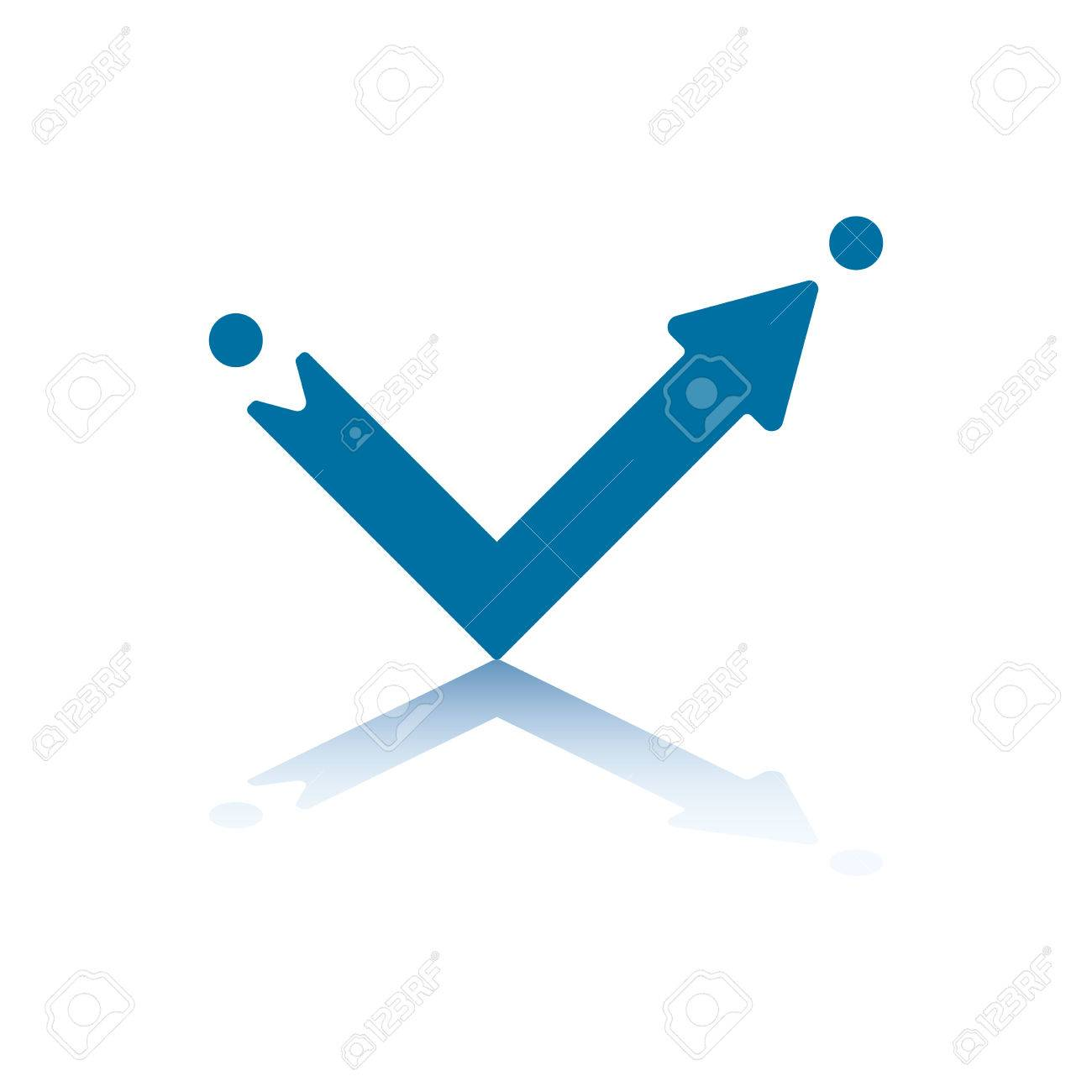 Arrow Pointing East Right Angle Arrow Pointing