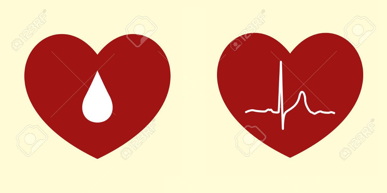 Vector Illustrations of Heart Related Concepts - 5022568