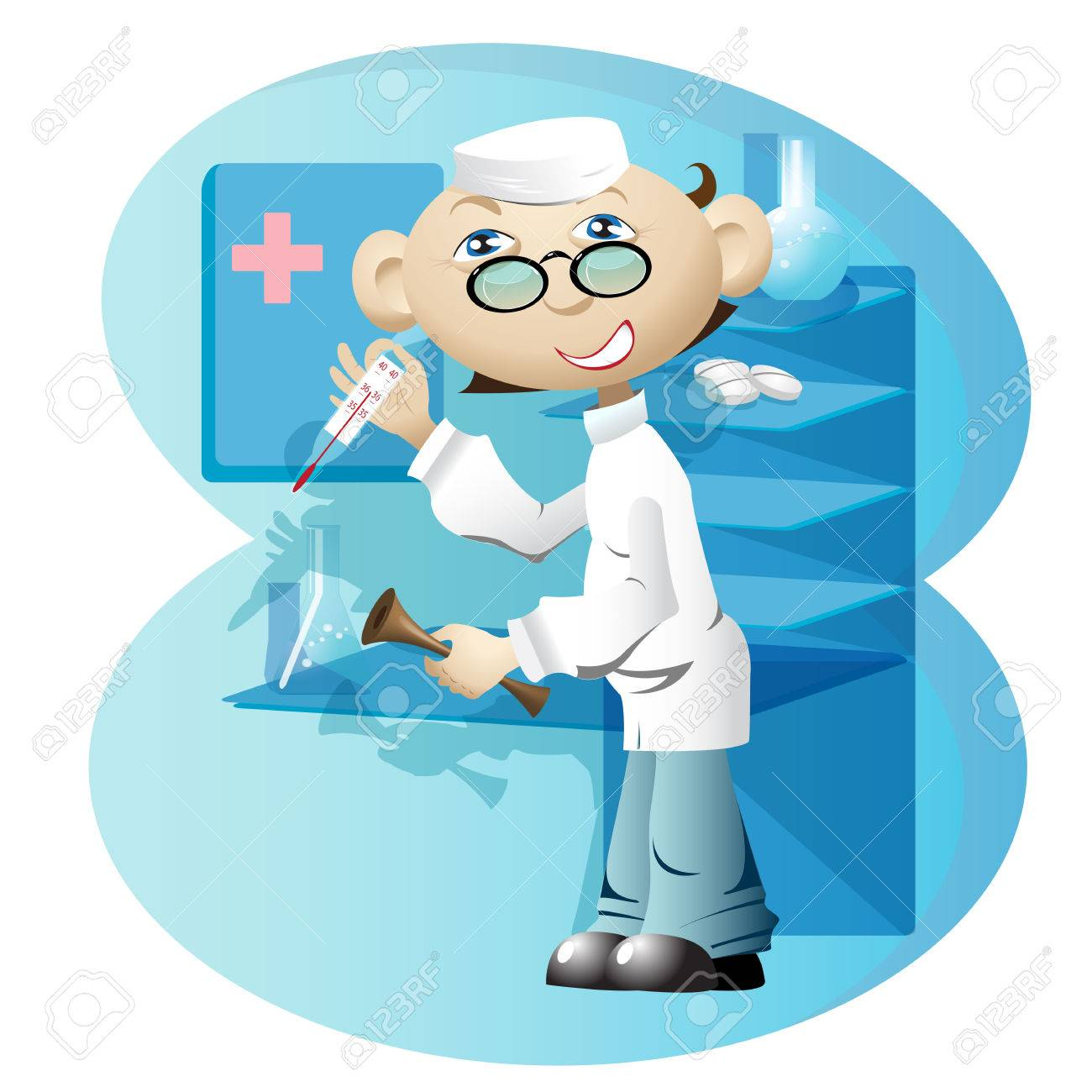 doctor Stock Vector - 7069684