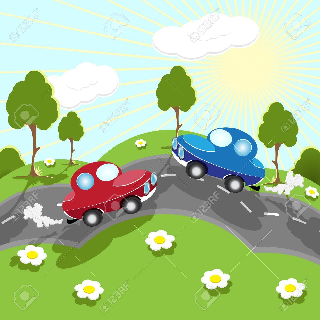 road Stock Vector - 7574162
