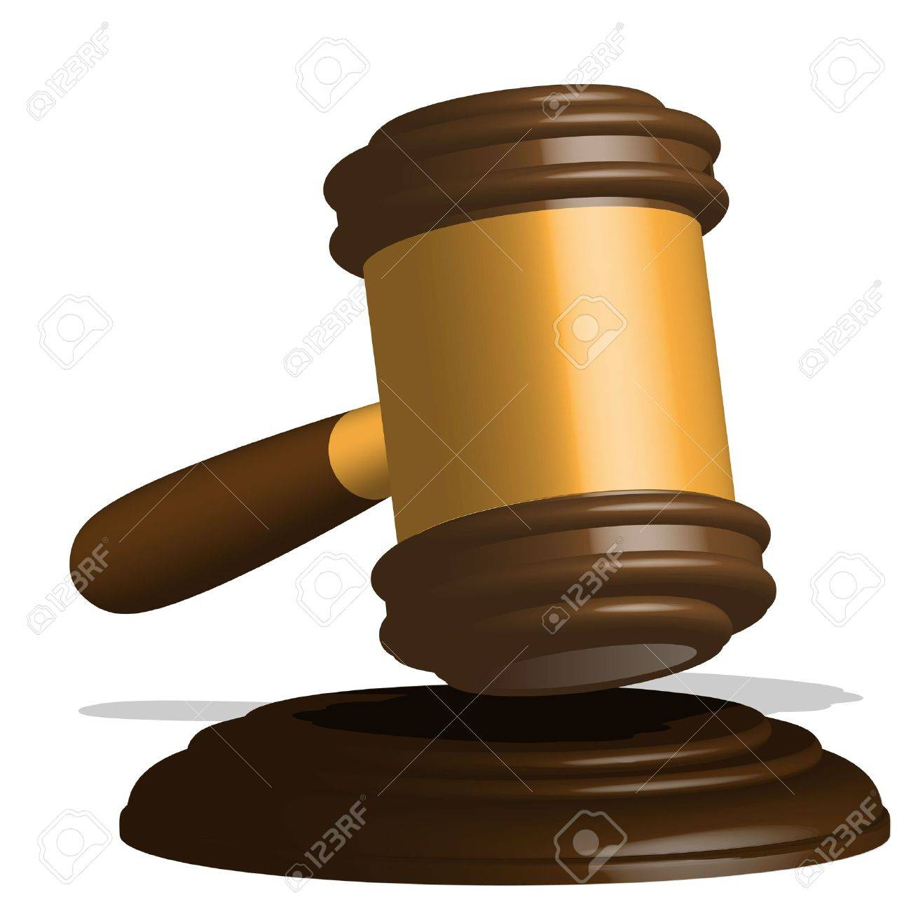 gavel Stock Vector - 9194955