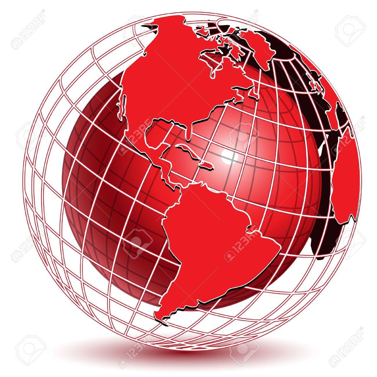 ===El mundo en colores=== 10919783-ilustraci-n-mundo-abstracto-de-color-rojo-sobre-fondo-blanco-Foto-de-archivo