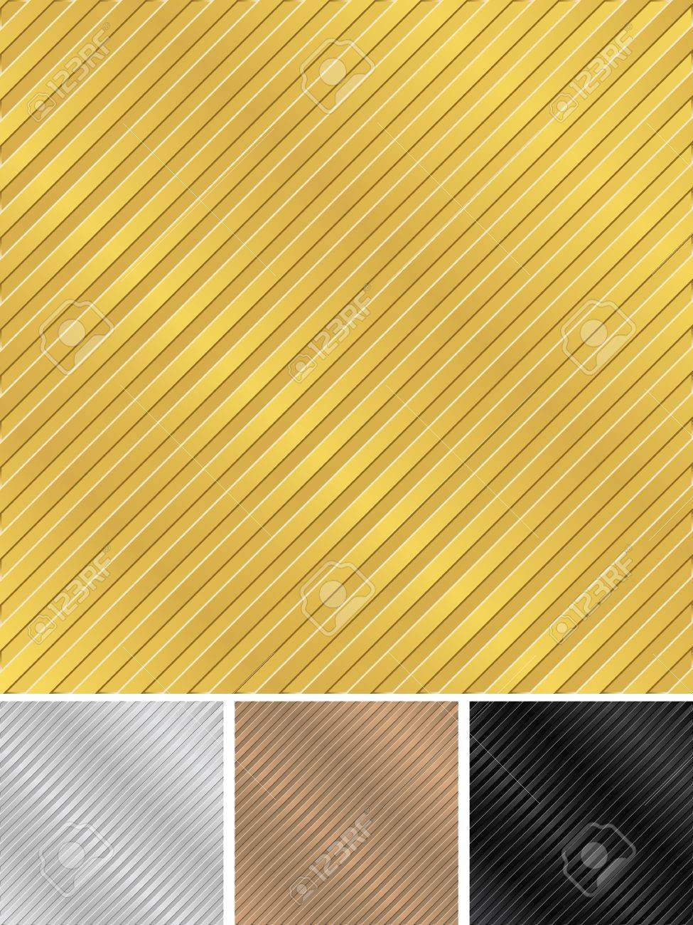 Metal striped backgrounds Stock Vector - 10644018