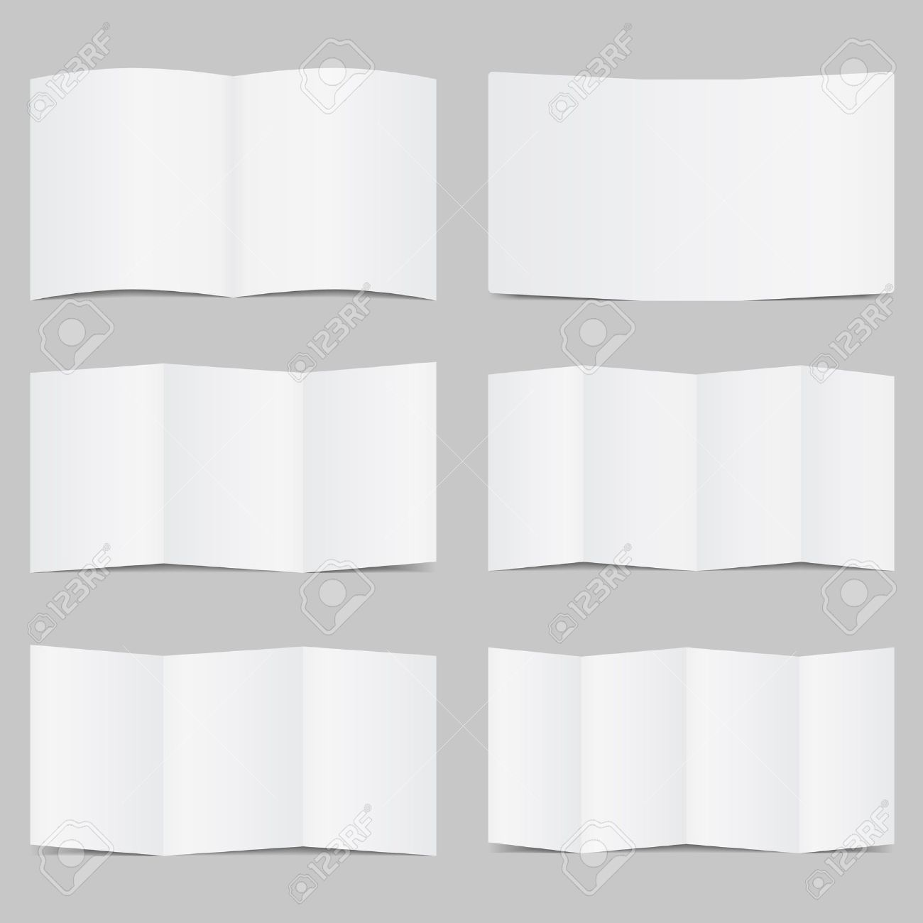 Vector Brochure Templates Royalty Free Cliparts Vectors And – Blank Brochure Template Word