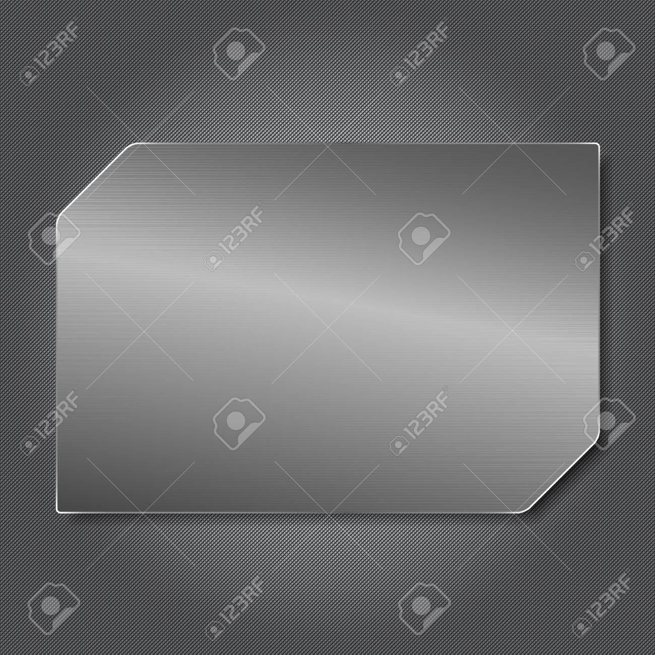 Metal Plate Stock Vector - 11367569