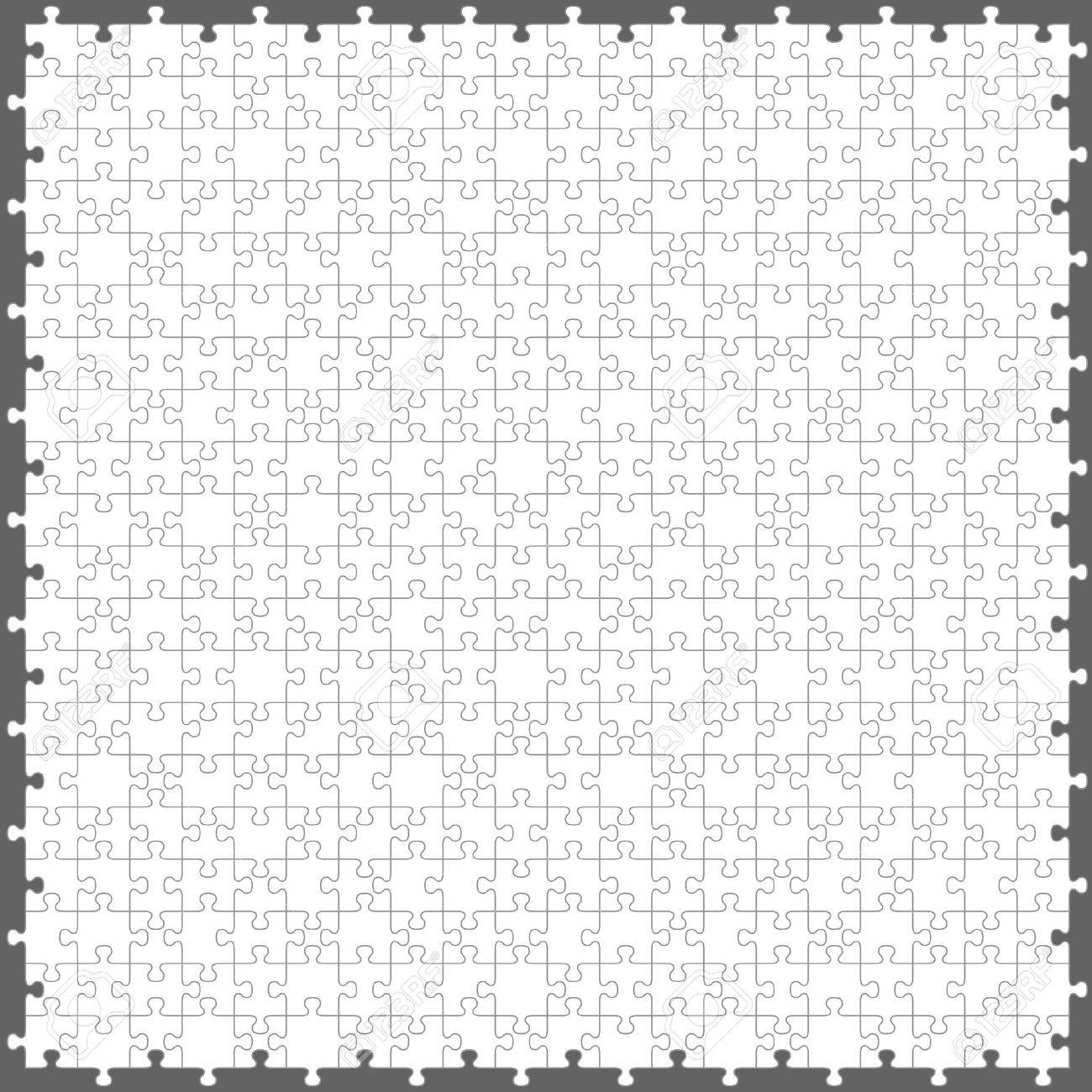 jigsaw puzzle with 200 pieces Stock Vector - 12482543