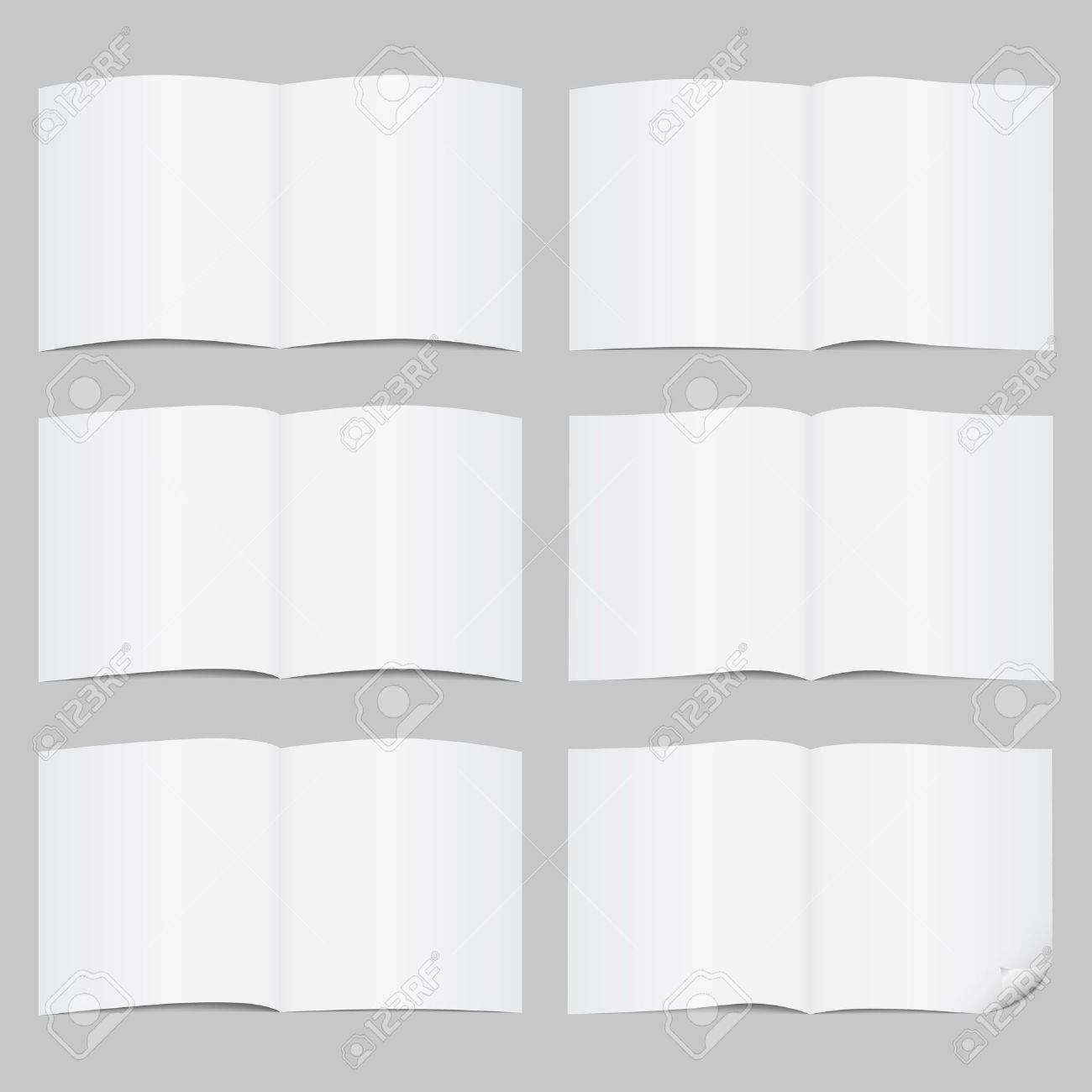 Set of open pages Stock Vector - 13307525