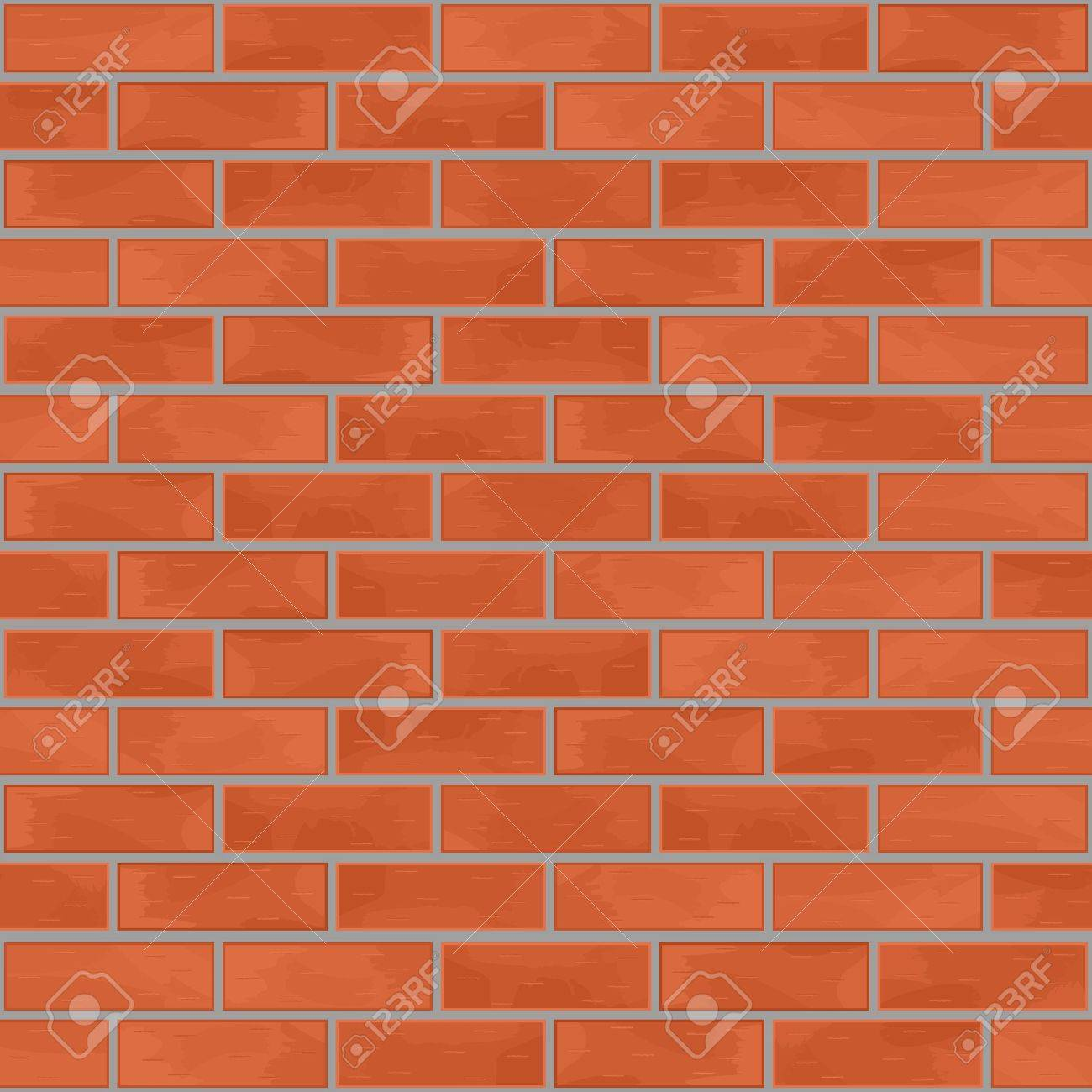 Seamless brick wall background Stock Vector - 13423101