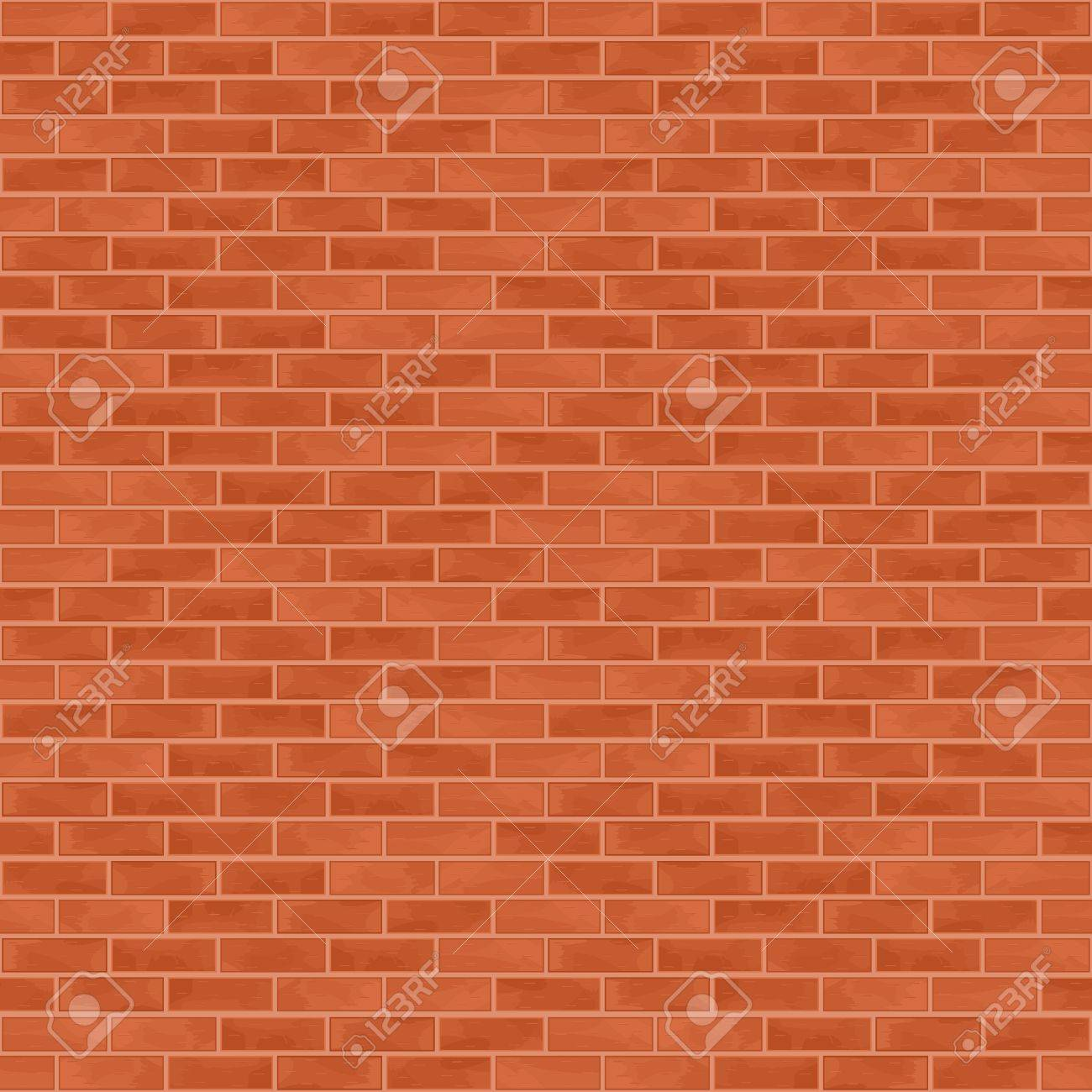 Seamless brick wall background Stock Vector - 13687379