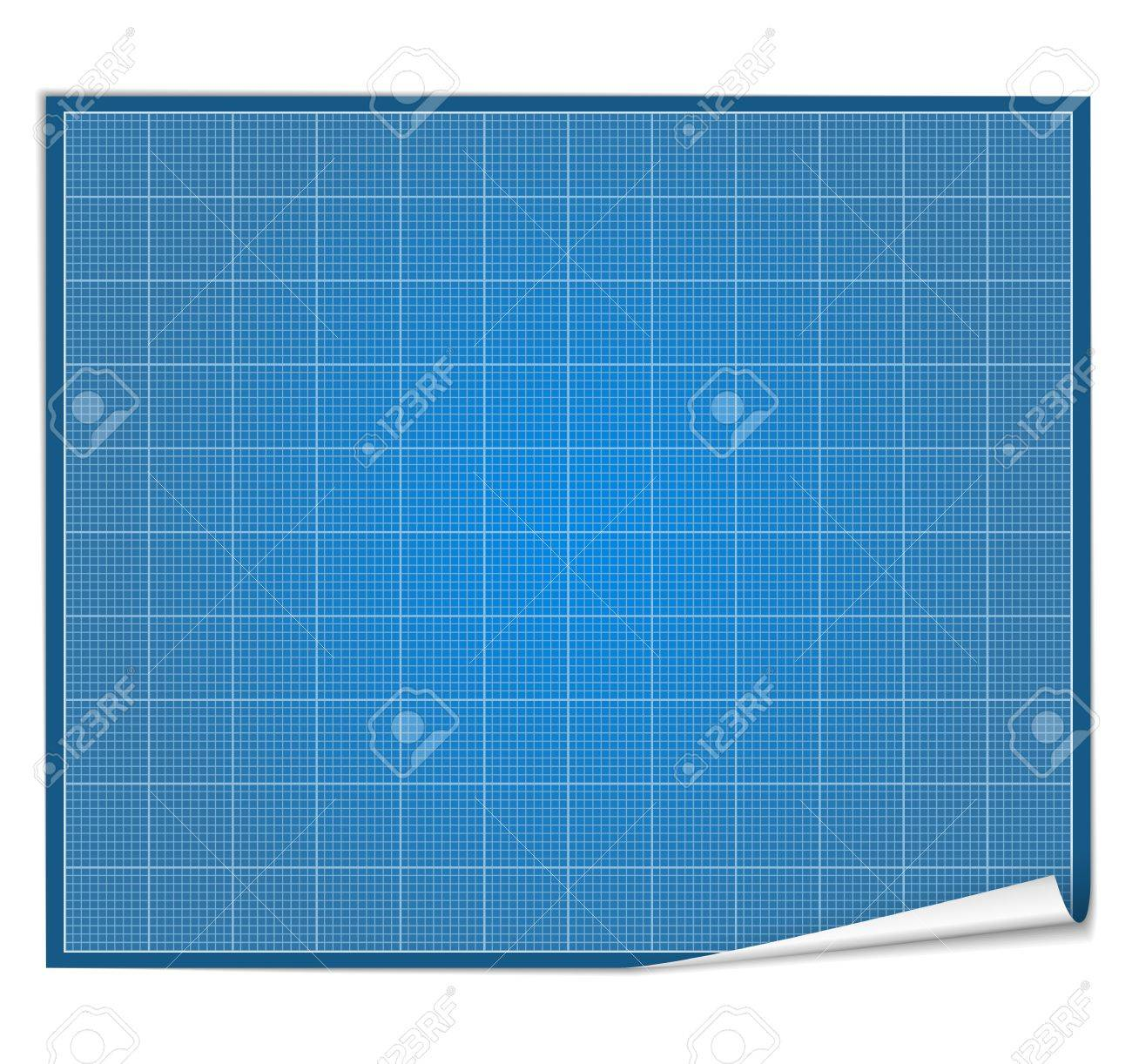Blank blueprint paper royalty free cliparts vectors and stock blank blueprint paper stock vector 13723438 malvernweather Gallery