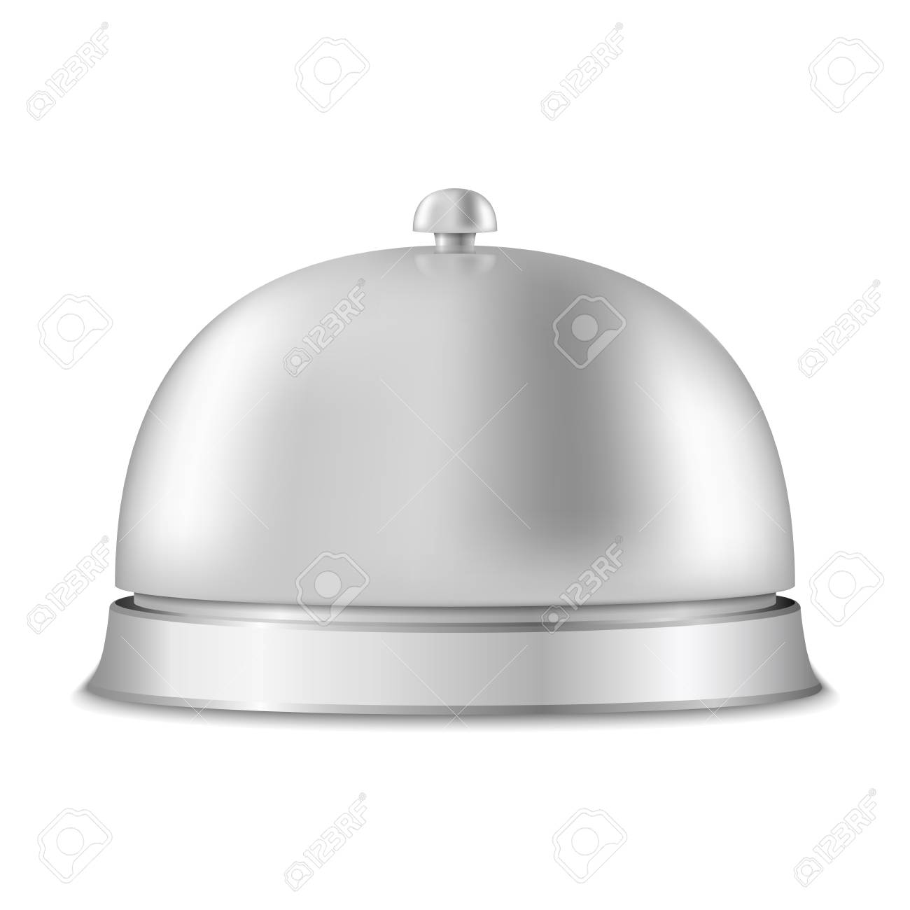 Service bell on white background Stock Vector - 20350723